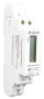 1 fase kWh meter direct 40A + puls (1 module)